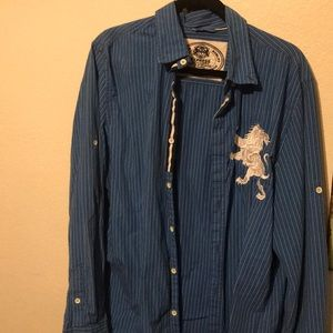 Express Button down large